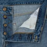 Мужские джинсы Carhartt WIP Klondike 12 Oz Blue True Bleached фото- 2