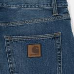 Мужские джинсы Carhartt WIP Klondike 12 Oz Blue True Stone фото- 3