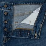 Мужские джинсы Carhartt WIP Klondike 12 Oz Blue True Stone фото- 2