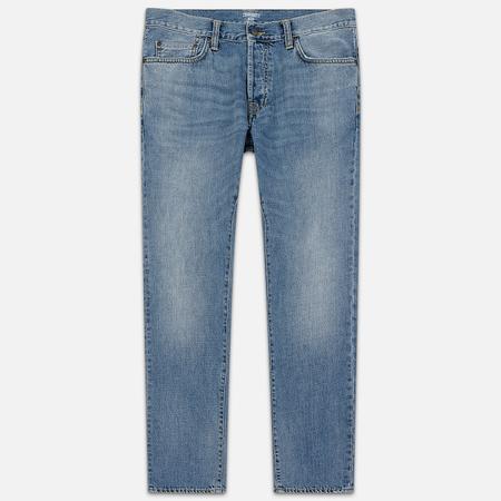 Мужские джинсы Carhartt WIP Klondike 12 Oz Blue Worn Bleached