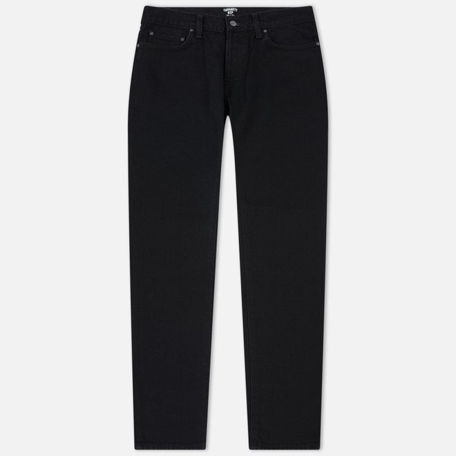Мужские джинсы Carhartt WIP Klondike 13.5 Oz Black Rinsed