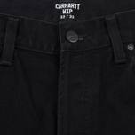Мужские джинсы Carhartt WIP Klondike 13.5 Oz Black Rinsed фото- 1