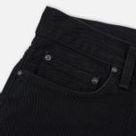 Мужские джинсы Carhartt WIP Klondike 13.5 Oz Black Rinsed фото- 3