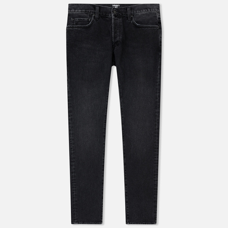 Мужские джинсы Carhartt WIP Klondike 13.5 Oz Black Rock Washed