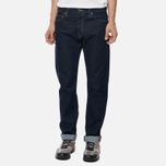 Мужские джинсы Carhartt WIP Klondike 14 Oz Blue Rinsed фото- 4