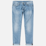 Мужские джинсы Carhartt WIP Klondike II 12 Oz Blue Burst Washed фото- 0