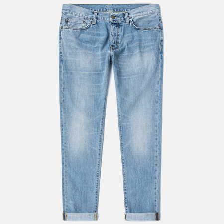 Carhartt WIP Klondike II 12 Oz Men's Jeans Blue Burst Washed