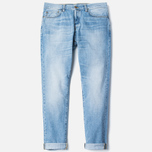 Мужские джинсы Carhartt WIP Klondike II 12 Oz Blue Burst Washed фото- 1