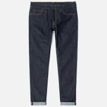 Мужские джинсы Carhartt WIP Klondike II 12 Oz Blue Rigid фото- 0