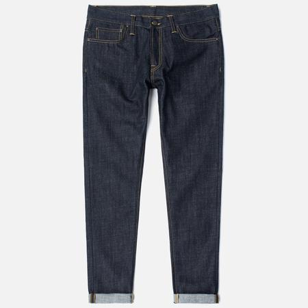 Мужские джинсы Carhartt WIP Klondike II 12 Oz Blue Rigid