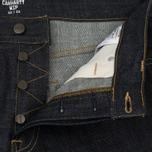 Мужские джинсы Carhartt WIP Klondike II 12 Oz Blue Rigid фото- 2