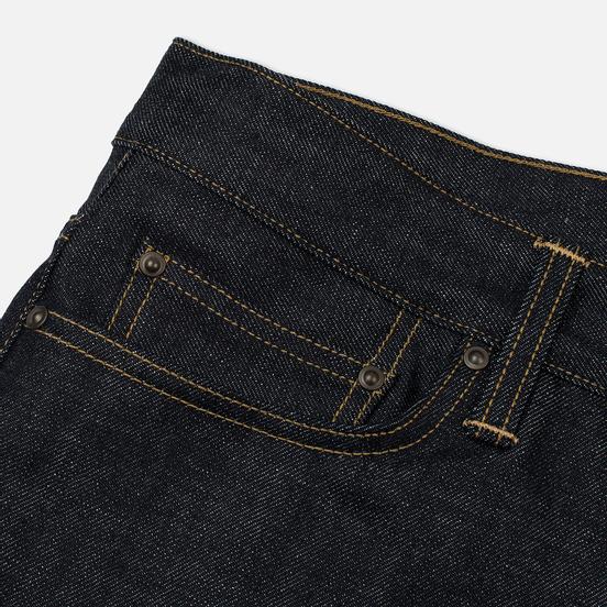 Мужские джинсы Carhartt WIP Klondike Edgewood 12 Oz Blue Rigid