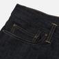 Мужские джинсы Carhartt WIP Klondike Edgewood 12 Oz Blue Rigid фото - 3