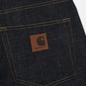 Мужские джинсы Carhartt WIP Klondike Edgewood 12 Oz Blue Rigid фото - 4