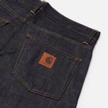 Мужские джинсы Carhartt WIP Klondike II 12 Oz Blue Rigid фото- 3