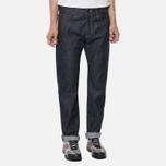 Мужские джинсы Carhartt WIP Klondike II 12 Oz Blue Rigid фото- 4
