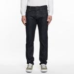 Мужские джинсы Carhartt WIP Klondike II 12 Oz Blue Rigid фото- 5