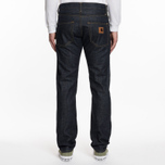 Мужские джинсы Carhartt WIP Klondike II 12 Oz Blue Rigid фото- 6