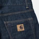 Мужские джинсы Carhartt WIP Murphy 13 Oz Blue Rinsed фото- 3