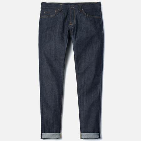 Carhartt WIP Privateer 14 Oz Men's Jeans Blue Rigid