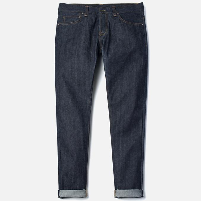 Мужские джинсы Carhartt WIP Privateer 14 Oz Blue Rigid