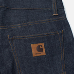 Мужские джинсы Carhartt WIP Privateer 14 Oz Blue Rigid фото- 3
