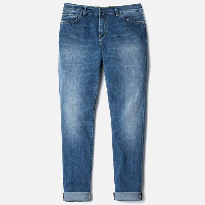 Мужские джинсы Carhartt WIP Riot 10 Oz Blue Gravel Washed