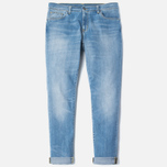 Мужские джинсы Carhartt WIP Riot 10 Oz Blue Burst Washed фото- 0