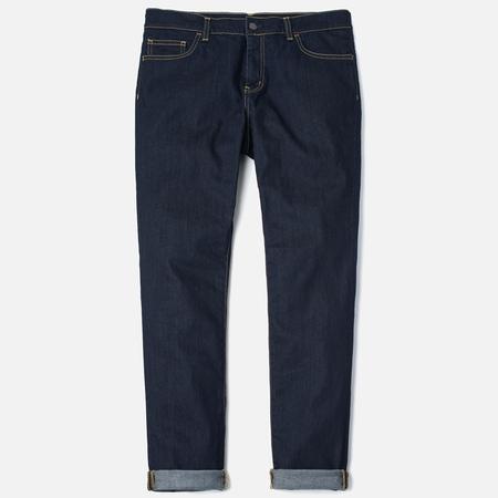 Carhartt WIP Riot 10 Oz Men`s Jeans Blue Rinsed