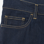 Мужские джинсы Carhartt WIP Riot 10 Oz Blue Rinsed фото- 2