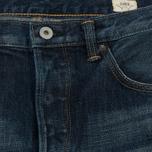 Мужские джинсы Edwin Classic Regular Straight Rainbow Selvage Japan Denim 13 Oz Dark Used фото- 1