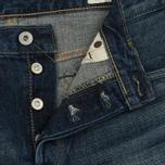 Мужские джинсы Edwin Classic Regular Straight Rainbow Selvage Japan Denim 13 Oz Dark Used фото- 3
