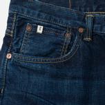 Мужские джинсы Edwin Classic Regular Straight Rainbow Selvedge Japan 13 Oz Dark Used фото- 1