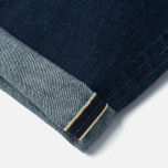Мужские джинсы Edwin Classic Regular Straight Rainbow Selvedge Japan 13 Oz Dark Used фото- 4