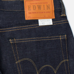 Мужские джинсы Edwin Classic Regular Straight Rainbow Selvedge Japan 13 Oz Raw State фото- 3