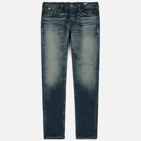 Мужские джинсы Edwin Classic Regular Tapered Kaihara Rainbow Selvage Mid Dark Used