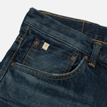 Мужские джинсы Edwin Classic Regular Tapered Rainbow Selvage Japan Denim 13 Oz Dark Used фото- 2