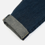Мужские джинсы Edwin Classic Regular Tapered Rainbow Selvage Japan Denim 13 Oz Dark Used фото- 5