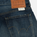 Мужские джинсы Edwin Classic Regular Tapered Rainbow Selvage Japan Denim 13 Oz Dark Used фото- 4