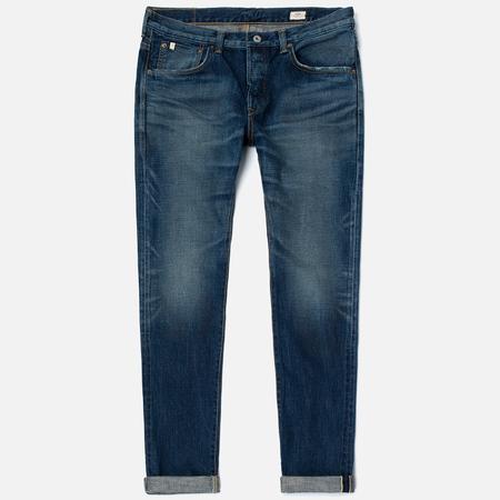 Мужские джинсы Edwin Classic Regular Tapered Rainbow Selvage Japan Denim 13 Oz Dark Used