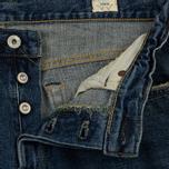 Мужские джинсы Edwin Classic Regular Tapered Rainbow Selvage Japan Denim 13 Oz Mid Dark Used фото- 1