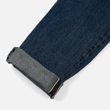 Мужские джинсы Edwin Classic Regular Tapered Rainbow Selvage Japan Denim 13 Oz Mid Dark Used фото- 5