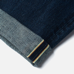 Мужские джинсы Edwin Classic Regular Tapered Rainbow Selvedge Japan 13 Oz Dark Used фото- 4