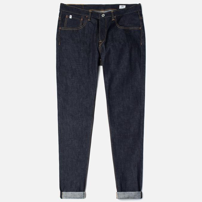 Edwin Classic Regular Tapered Rainbow Selvedge Japan 13 Oz Men's Jeans Raw State