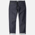 Edwin ED-39 Regular Loose Compact Men's Jeans Indigo Undwashed photo- 0