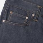 Edwin ED-39 Regular Loose Compact Men's Jeans Indigo Undwashed photo- 2