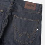 Edwin ED-39 Regular Loose Compact Men's Jeans Indigo Undwashed photo- 3