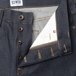 Edwin ED-39 Regular Loose Compact Men's Jeans Indigo Undwashed photo- 1