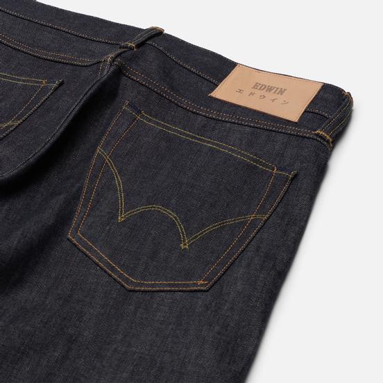 Мужские джинсы Edwin ED-39 Red Listed Selvedge Denim 14 Oz Blue Unwashed