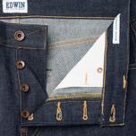 Мужские джинсы Edwin ED-39 Regular Loose Red Listed Selvedge 14 Oz Blue Unwashed фото- 2